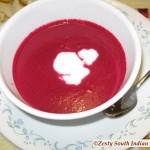 Beet Carrot Ginger Soup