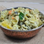 Aviyal/ Mixed vegetables Cooked with Spicy Coconut Paste