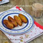 Unnakaya/Stuffed Plantain Fritters