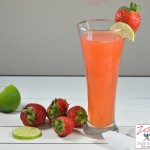lemon juice with strawberry 1