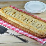 Plantain Jalousie with Homemade Puff Pastry