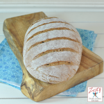 Rye whole wheat bread No knead 1