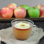 Homemade apple cider and apple butter