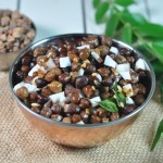 Kadalai  sundal/ Brown chickpea salad