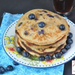 Blueberry multigrain pancake 11