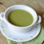cream of asparagus and spinach soup 3