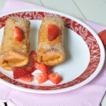 Strawberry cream cheese chimmichanga 2