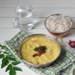 Chakka kuru Manga curry/ Jack fruit seeds and raw mango curry