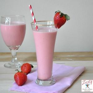 Strawberry butttermilk smoothie 11