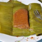 Chakka Appam/ Steamed Jackfruit Rice Cake Wrapped in Banana Leaves
