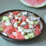 watermelon cucumber salad 5