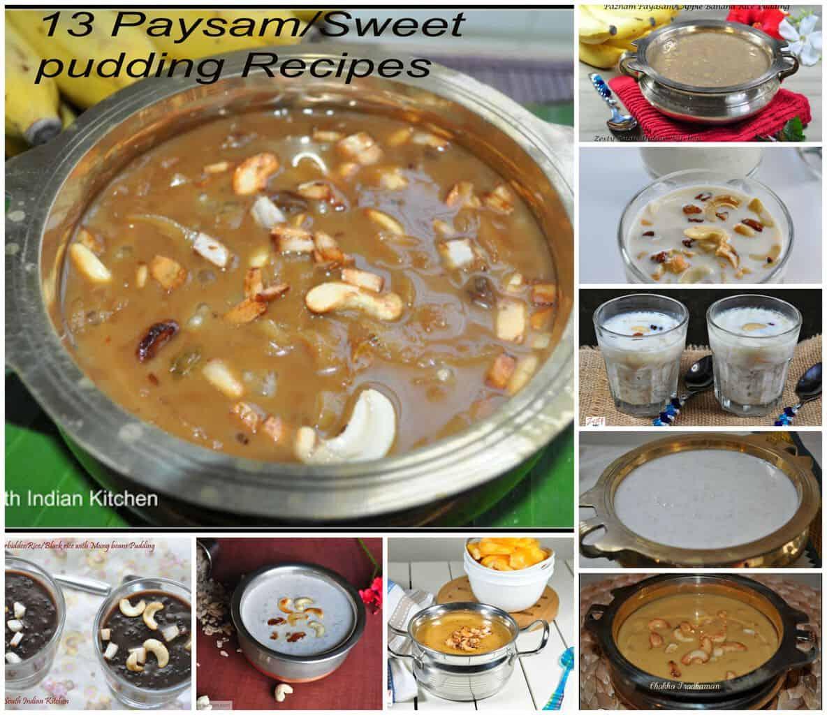 Payasam/ Pradhaman Recipes For Onam