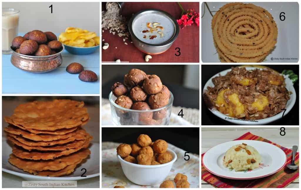 Krishnajayanthi recipes