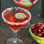 Cranberry Prosecco Margarita