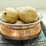 Manda puttu/Rice and mung bean sweet steamed balls