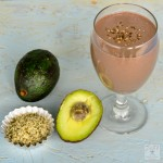 Protein Rich Chocolate Avocado  Hemp Seed Smoothie