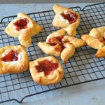 Strawberry Jalapeno Fruit Spread Danish