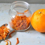 Homemade Orange peels
