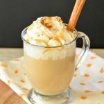 Caramel Coffee Cake Pumpkin Spice Latte
