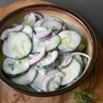 Cucumber Buttermilk Salad