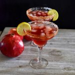Apple Cider Pomegranate Margarita