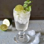 Sharbat-e Sekanjabin/Mint and cucumber cooler