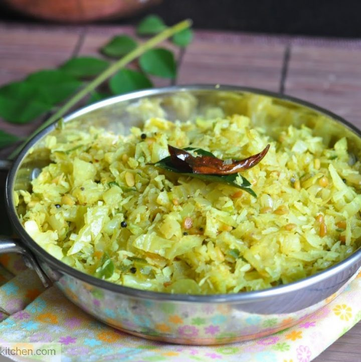 Cabbage Thoran Cabbage Stirfry With Coconut And Spices Zesty South Indian Kitchen