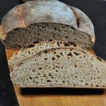 Whole wheat sourdough Tartine style bread