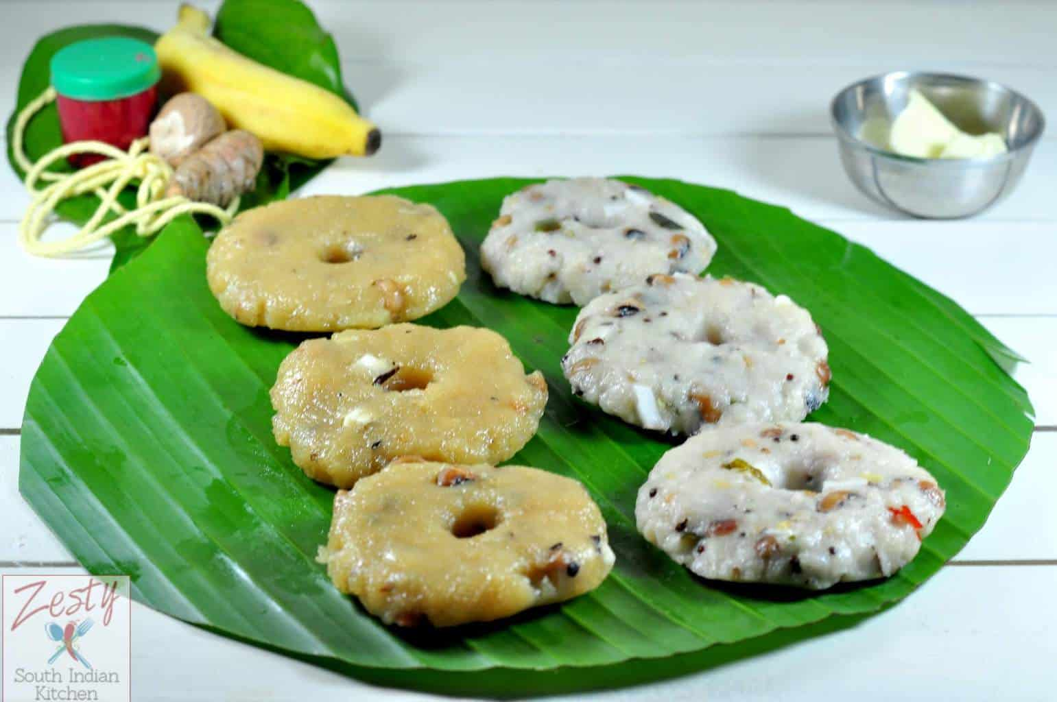 Karadaiyan nombu adai sweet and savory steamed rice cakes karadaiyan nombu adai sweet and savory steamed rice cakes zesty south indian kitchen forumfinder Image collections