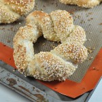 Simit: Turkish sesame ring bread