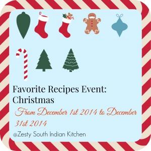 Favorite recipes christmas 2014