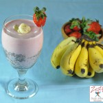Chia Strawberry Banana Smoothie