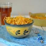 Aloo Bhujia /Fried potato Noodles
