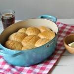 Amish potato rolls and Le Creuset Dutch Oven giveaway