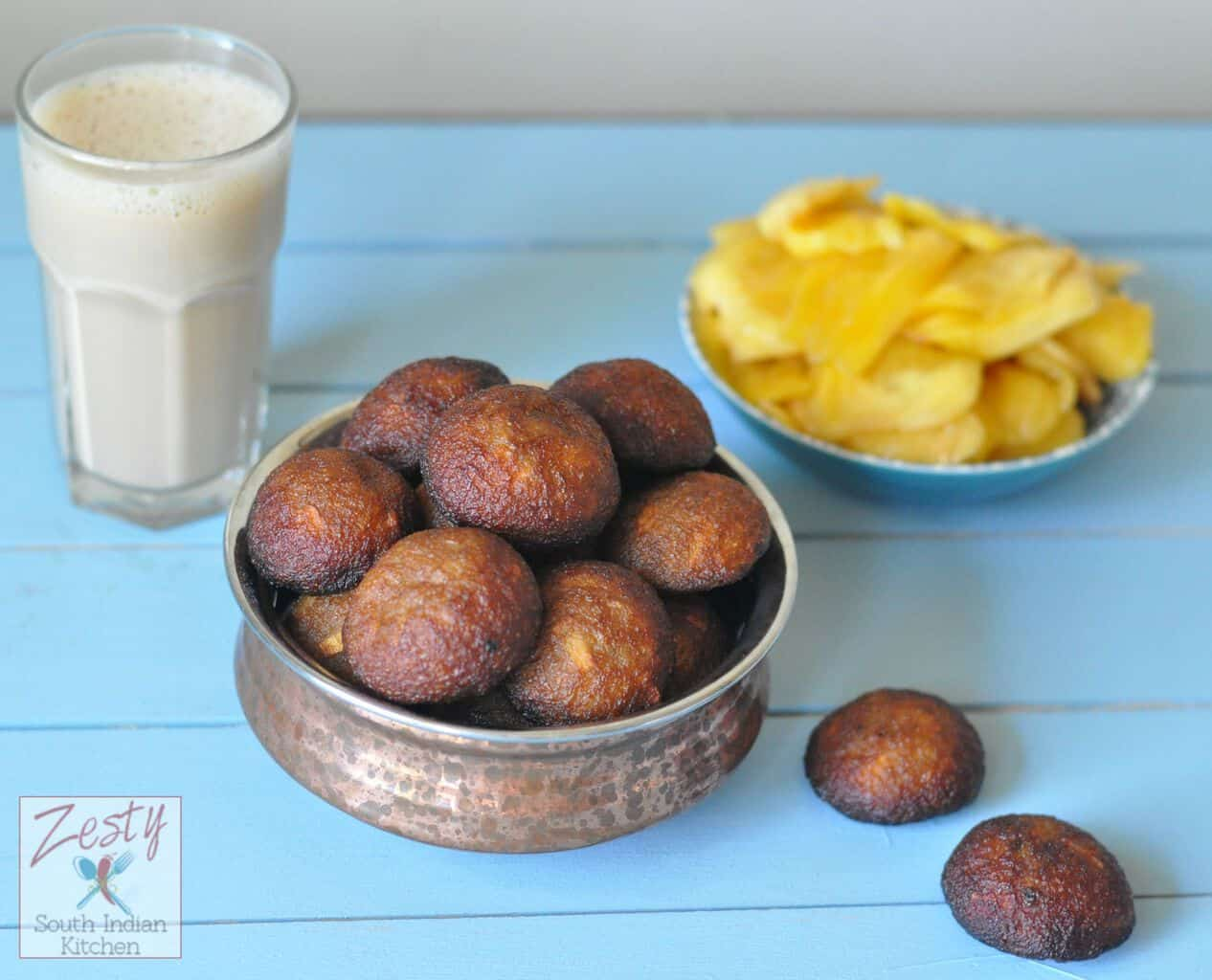 Chakka unniyappam/ Jack fruit rice sweet fritters - Zesty South ...