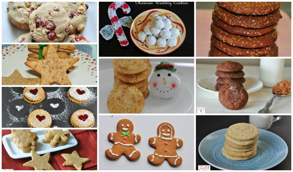 Christmas cookiesCollage