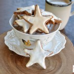 Zimtsterne: Cinnamon Star Cookies