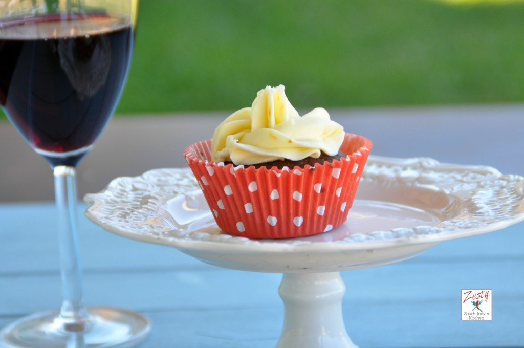 Chocolate red wine cupcake11