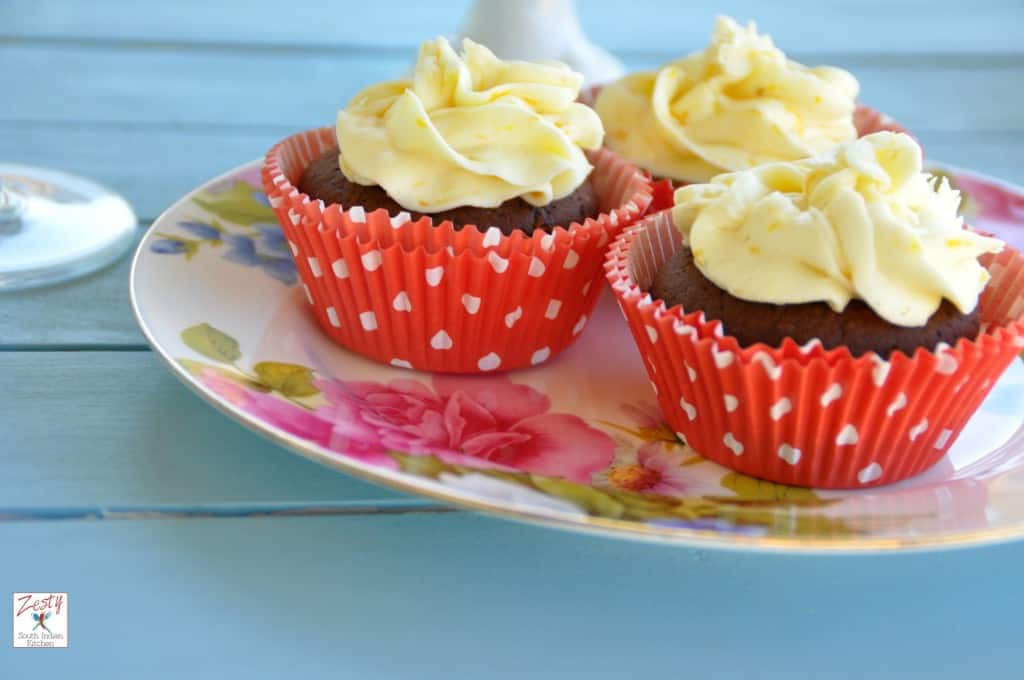 Chocolate red wine cupcake14