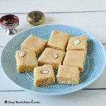 7 Cup Burfi/Chickpea flour fudge
