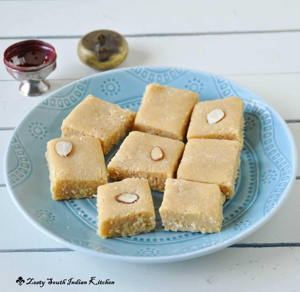 7 Cup Burfi/Chickpea Flour Fudge
