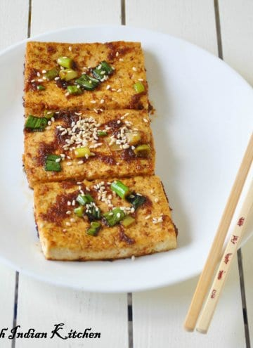 Dubu-jorim (두부조림) Korean Spicy braised tofu