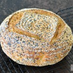 Seeded semolina bread