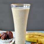 Coconut Date Almond Chia Smoothie
