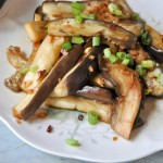 Korean steamed eggplant /Gaji Namul and Book review