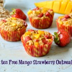 Gluten free Mango Strawberry Oatmeal Muffins and Savory  Oatmeal  Carrot Cookies