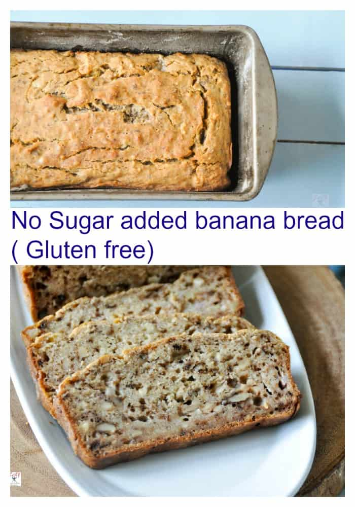 no-sugar-added-banana-bread