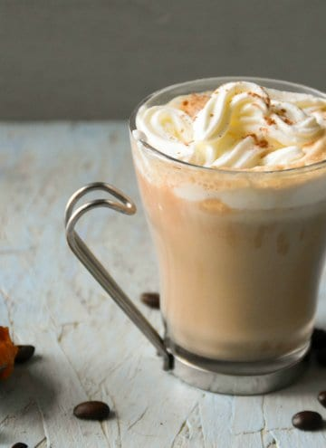 Homemade Pumpkin Spice Latte