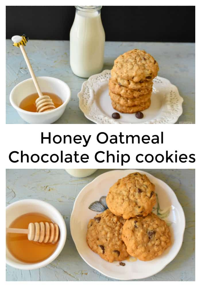 honey-oatmeal-chooclate-chip-cookies