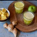 Apple pineapple Ginger Emergen-C Smoothie